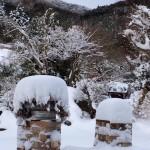 笠間市(旧:岩間町)の積雪